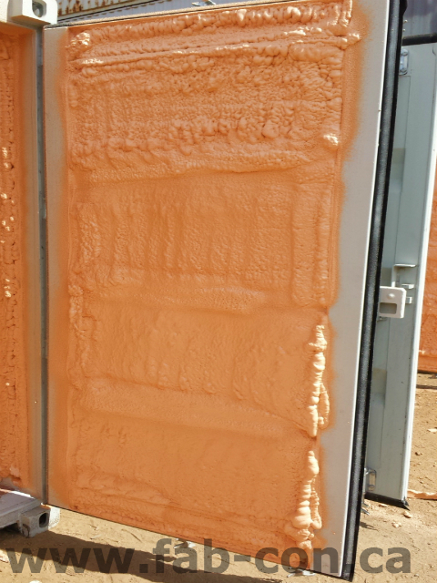 Fab-Con Container 20ft container spray foamed interior 10