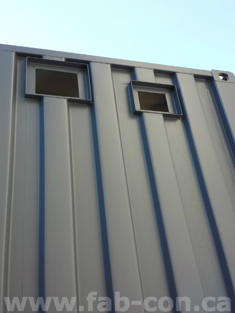 Fab-Con Container Louvre - Vent Add On 4