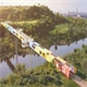 World's First Shipping Container Bridge