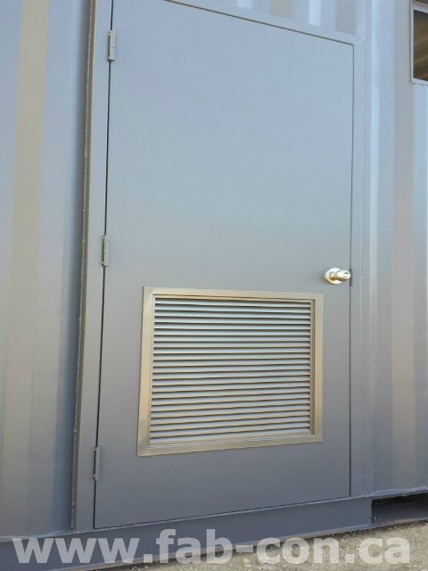 Fab-Con Container 20ft Container With Man Door 6