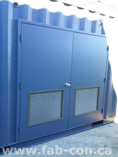 Fab-Con Container 20ft Container With Man Doors 7
