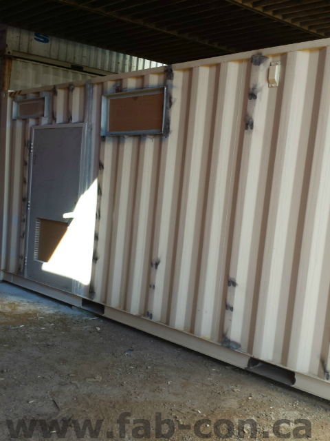 Fab-Con Container 20ft Container with Modifications 3