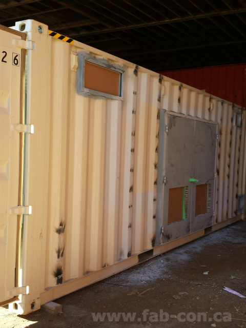 Fab-Con Container 20ft Container with Modifications 4