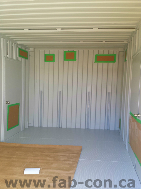 Fab-Con Container 20ft Container with Modifications 7