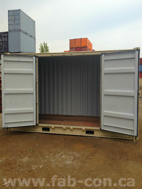 Fab-Con Container 20ft Openside Unit Using Standard Doors 2