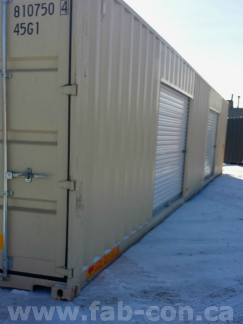 Fab-Con Container Roll Up Door 6